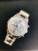 Bell And Ross Vintage Officer Silver Dial Chronograph