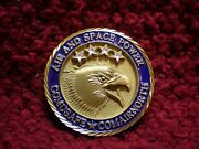 Usaf Challenge Coin Air And Space Power Comusafe Comair North Usaf In Europe