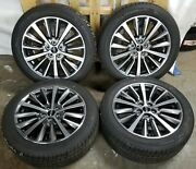 18 New Lincoln Mkz 2017-2019 Oem Set Of 4 Wheel Rim 10127 And Tires 245/45 R18