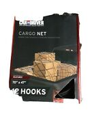 Car And Driver Approved Cargo Net Adjustable 70x47 Heavy Duty Bungee Material