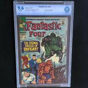 Fantastic Four 58 💥 Cbcs 9.6 💥 Doctor Doom App And Silver Surfer Cameo 1967