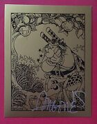 Golden Apple Comics Card 12 - Groo By Sergio Aragones Signed In Silver Ink
