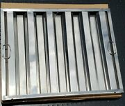 6-serv-ware Stainless Steel Baffle Filter-16 X 25-f1625s-hood-grease