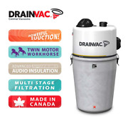 Ducted Vacuum 3240w Twin Motor Tremendous Suction Sadie By Drainvac