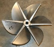 18.5 X 26.75 New Rolla Twin Disc 6 Blade Lh Stainless 26.75p Propeller K14