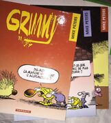 3 Grimmy Books In French By Mike Peters Printed In France 1999-2001 81011