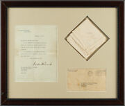Handkerchief Personally Owned And Gifted By Franklin D. Roosevelt W/ Loa From Fdr