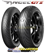 Pirelli Angel Gt Ii Front And Rear Tire Set 120/70-17 180/55-17 2 Tires