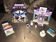 2 Lego Sets 3187 Butterfly Beauty Shop And 41004 Stephanie's Rehearsal Studio