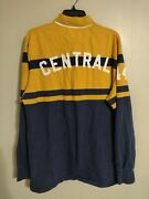 American Eagle Outfitters Vintage Rugby Central L/s Rugby Polo Shirt - Menand039s Xl