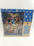 Master Pieces Holy Night Christmas Jigsaw Puzzle William Ternay New 1000 Piece