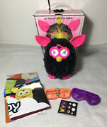 Furby Interactive Electronic Pet Punky Pink/black By Hasbro 2012