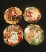 Complete King And I Plate Collection By Edwin M. Knowles With Original Boxes