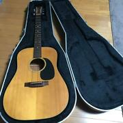 Rare Martin And Co. D-18 Natural Acoustic Guitar With Hard Case Shipped From Japan