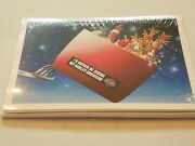 Harley Davidson Christmas Cards X602 Santa Delivery Gifts In Harley Sleigh 10