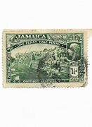 Scott Sg 80 1919 Jamaica Contingent Embarking Postage Stamp Used G4b 37