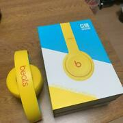 Beats By Dr Dre Solo3 Wireless Beats Club Collection Yellow Case