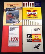 Vintage Winchester Western 1961 1963 1978 Arms And Ammo Catalogs