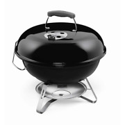 18 Inch Weber Portable Charcoal Grill Black Outdoor Bbq Pool Beach Party Picnic
