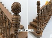 Amazing Decorative Wood Newel Post For Staircase