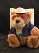 Vintage 1992 Gund Lands' End Grizzly Big Daddy Bear Authentic Rugby Mint In Box