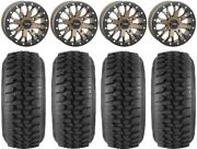 System 3 Sb-4 Bronze 6+1 15 Wheels 32 Ds Soft Tires Rzr Turbo S / Rs1