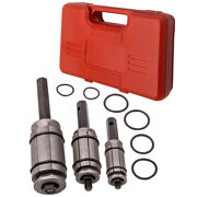 Muffler Tail Pipe Exhaust Expander Spreader Dent Remover Tool Set 1-1/18 3-1/2