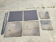 Model T Ford Inside Door Panels Fabric Used Interior Upholstery Set Old