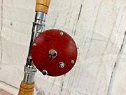 Vintage Penn Reel Jigmaster 500s And South Bend Forester Rod 1-511-560