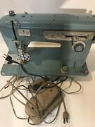 Vintage Brother Wizard 8846 Sewing Machine With Foot Pedal As Is For Parts