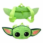 Star Wars The Child Baby Yoda Head Shaped Plush Backpack 12 Inches New Tag