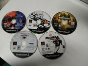 Lot Of 5 Playstation 2 Ps2 Disc Only Games Twisted Metal Black Gta 3 Monster Jam