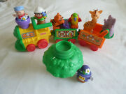 Fisher Price Little People Animal/musical Sounds Sonya Lee Talk Zoo Train Extras