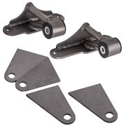 Pair For Ford Sbf Small Block 289 302 351w Engine Swap Weld-in Motor Mounts Kit