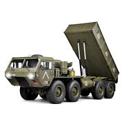Hg P803a Upgraded Light Sound 1/12 2.4g 8x8 Ep Rc Car For Us Army Military Truck