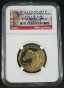 2012 S Sacagawea 17th Century Trade Routes Ngc Pf69 Early Releases Ultra Cameo