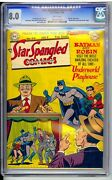 Star Spangled 94 Cgc 8.0 Vf Bright White Pages Batman Cover Cool Book