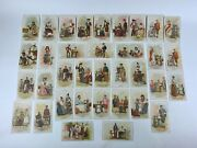 36 Antique Victorian Singer Sewing Machine Trade Cards All Nations Series