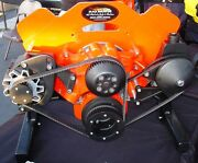 Chevy Bbc Gilmer Drive Pulleys And Billet Brackets