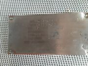 Lycoming Io-540-c4b5 Data Plate
