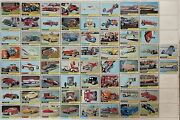 Hot Rods Topps 1968 George Barris Custom Cars Vintage Trading Card Set Of 66