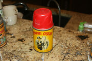 Vtg. 1950 Hopalong Cassidy Lunch Box Thermos -clean, Colorful Condition Complete