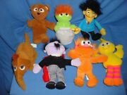 Vintage Tyco 1997 Lot 22 Bean Bag Collectible Toys Sesame Street Elmo And Friends