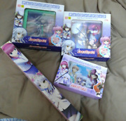 Used Angel Beats Japan Anime Various Prize Goods 4 Pieces Set