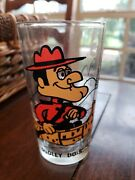 P.a.t. Ward Collector Series, Dudley Do-right Pepsi Cartoon Glass, Black Letter