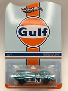 Hot Wheels Real Riders Porsche 917k Gulf Series Momb Protecto