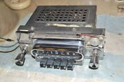 Mercury By Bendix 22bm Am Pushbutton Car Radio 1962 Parts/repair Playing Chassis