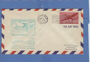1949 First Flight Issue Us Airmail Parkersburg Wv  Fdc