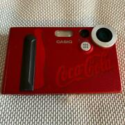 Casio Coca Cola Red Digital Camera Shipped From Japan
