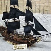 New Diy Black Pearl Sailing Model Sets Solid Wood Puzzle Hands-on Toy Pirates
